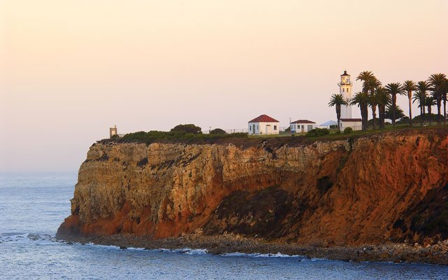 Point Vicente Lighthouse in Palos Verdes Peninsula, California