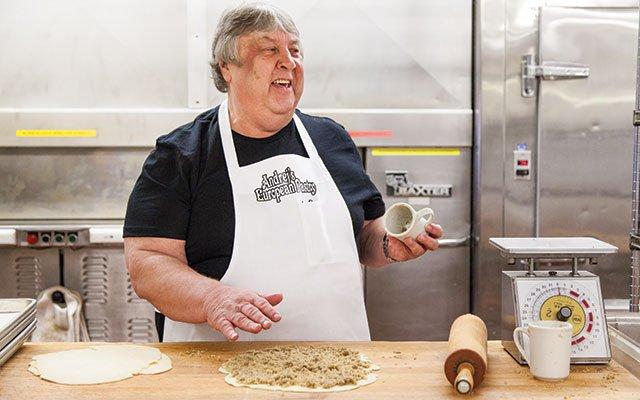Ján Gadzo of Andrej's European Pastry