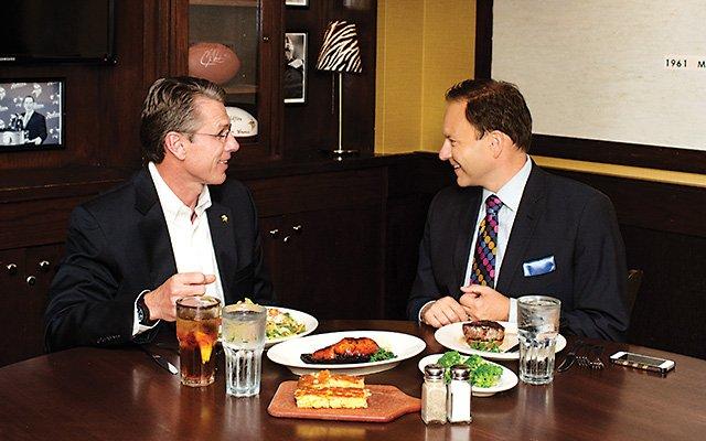 Jason DeRusha Eats with Rick Spielman