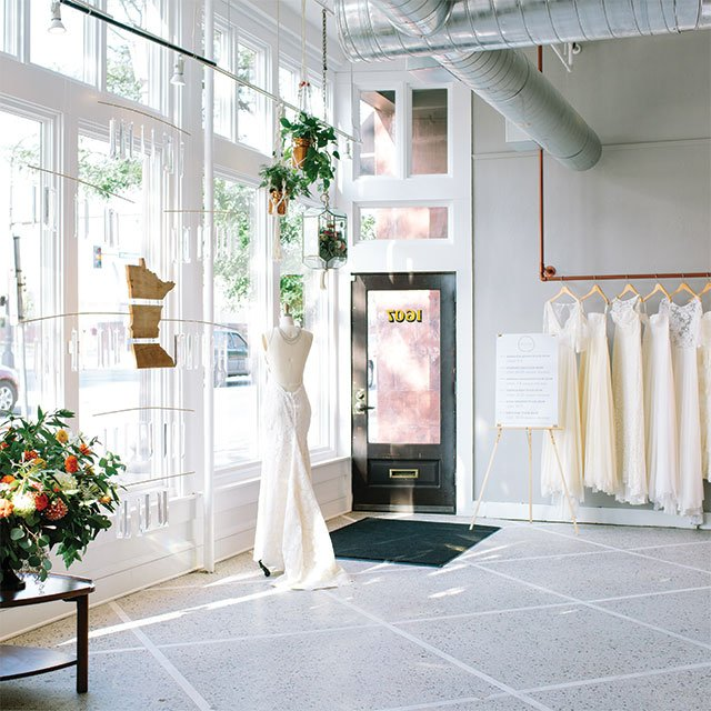 a&bé bridal shop in Minneapolis