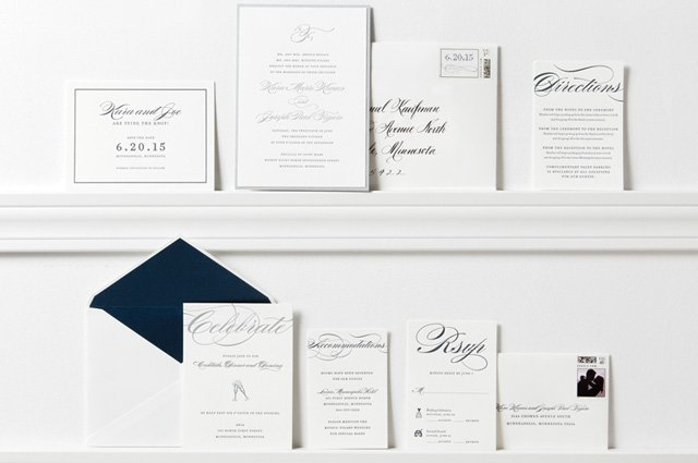 Wedding Invitations by Spark Letterpress