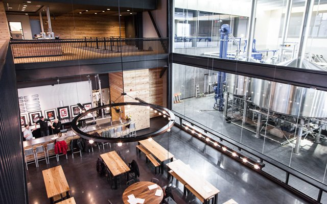 Surly Beer Hall in Minneapolis