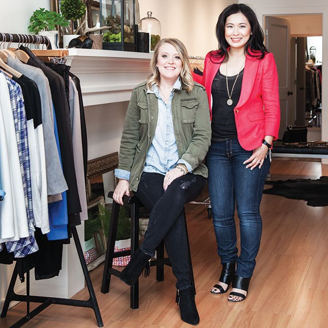 Jamie Carl and Susan Sun of Equation Boutique