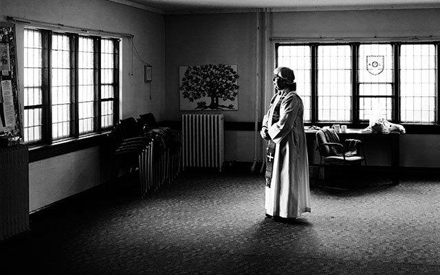 Female priest in Minneapolis