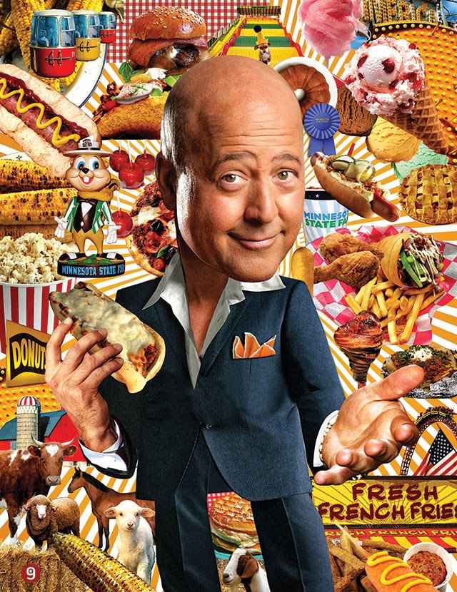 Andrew Zimmern on the Minnesota State Fair