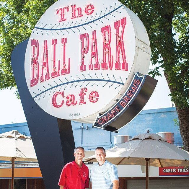 the brothers behind Ball Park Cafe at the Minnesota State Fair
