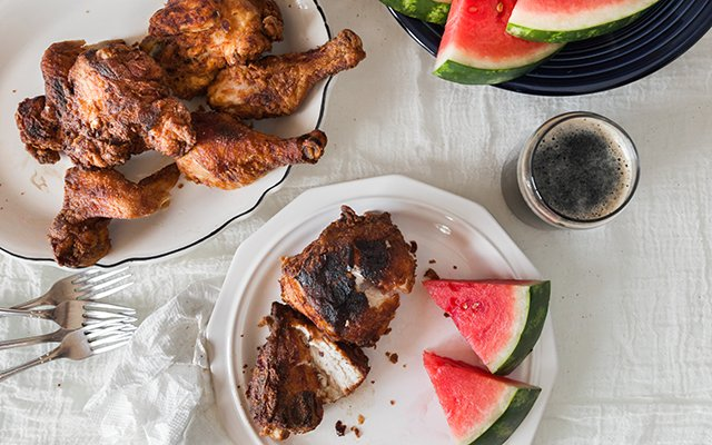 Andrew Zimmern's Buttermilk Fried Chicken recipe