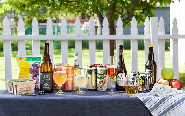 Cider tasting party
