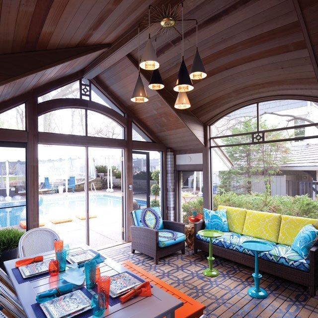 ASID Showcase Home 2014 pool house