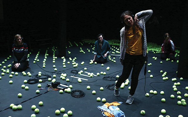 'A Supposedly Funny Thing' performance at the Walker in Minneapolis, Minnesota
