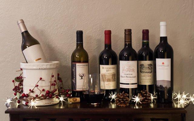 An assortment of wine from Surdyk's Liquor