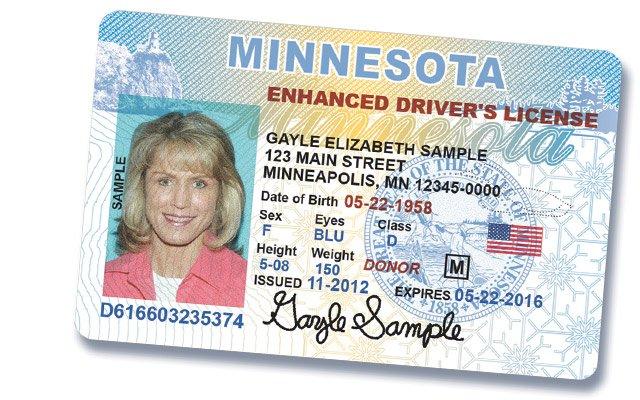A Minnesota ID