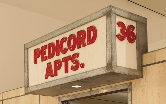 The Pedicord Apts., A Mixed Media Artwork At The Weisman Art Museum