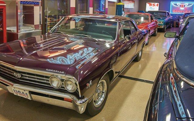 A car at AutoMotorPlex in Chanhassen, Minnesota