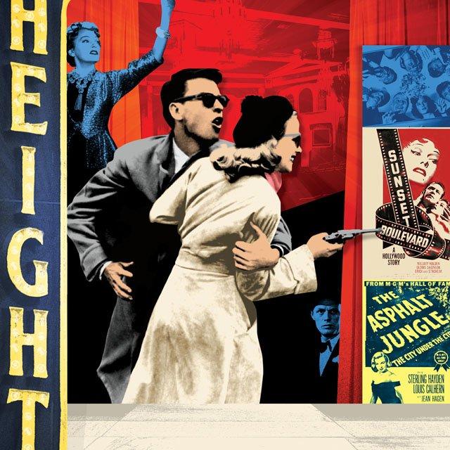 An illustration of Heights Theater in Minneapolis, Minnesota
