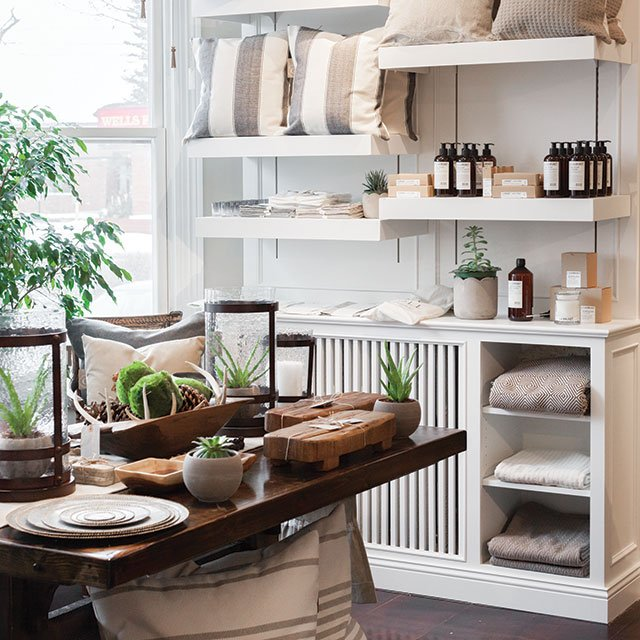 Gray Home + Lifestyle store in Excelsior, Minnesota