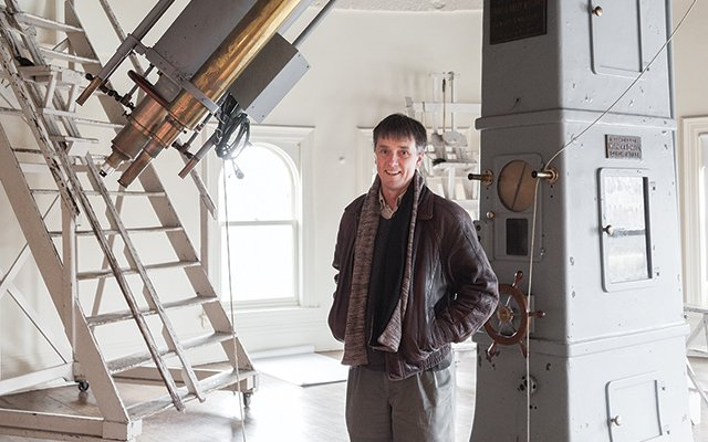 Nelson Christensen, professor of physics at Carleton College