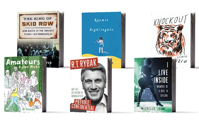 Book covers of the six must-read books for spring