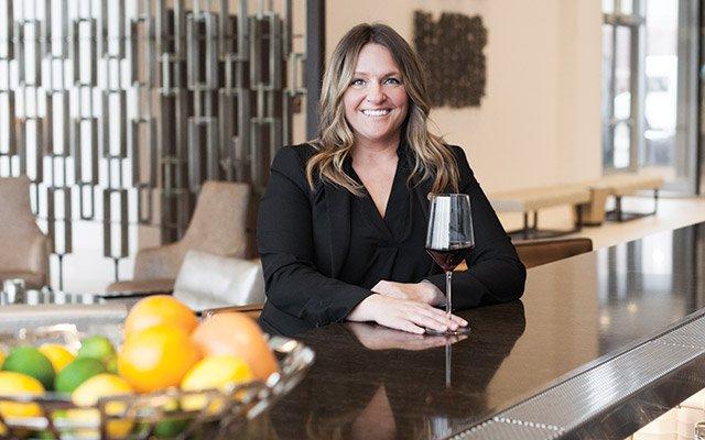 Rikki Iglesais, wine extraordinaire