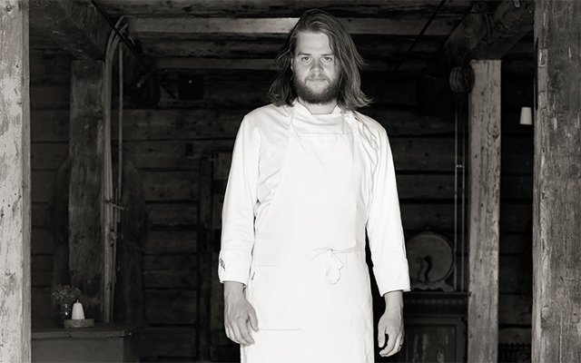 Swedish chef Magnus Nilsson