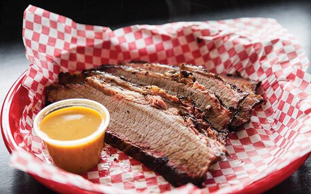 Beef brisket from Q Fanatic in Minneapolis