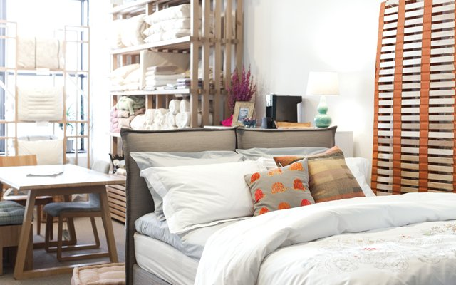 Natural Bed + Home showroom in Minneapolis