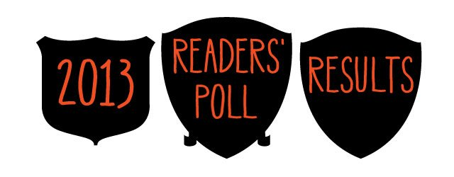 2013 Readers' Poll Results