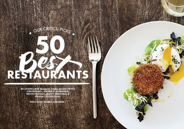Best Restaurants 2014 opener