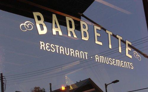 Barbette store front