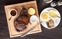 Steak at Burch