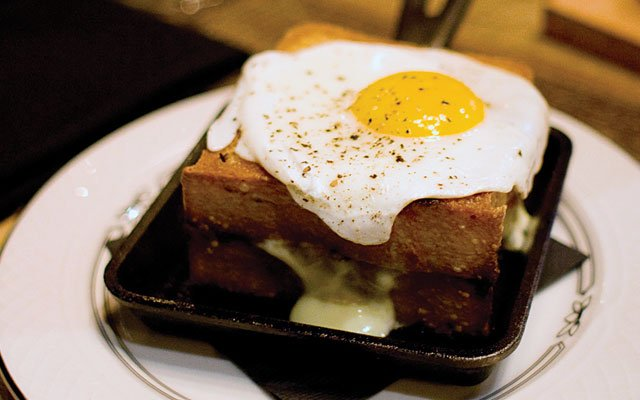 Grilled Cheese at Butcher and the Boar