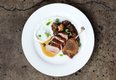 Duck two ways with curried lentils and cauliflower with yogurt sauce at Restaurant Alma .jpg