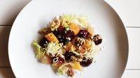 Roasted beet and pear salad with rosemary, vanilla, and walnuts at Tilia.jpg