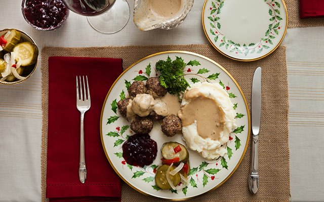 Swedish meatballs recipe from FIKA at American Swedish Institute