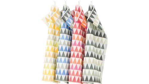 Patterned kitchen towels from AlwaysMod