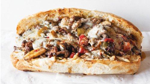 Fat Lorenzo's Mio Dio sandwich