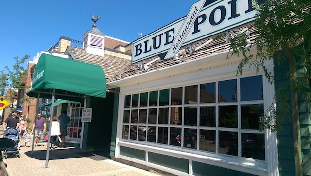 Blue Point Restaurant Front