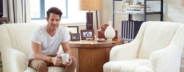 Nate Berkus in his West Village apartment