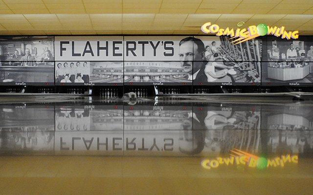 Flaherty's bowling alley in Arden Hills