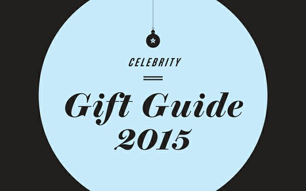 Celebrity holiday gift guide
