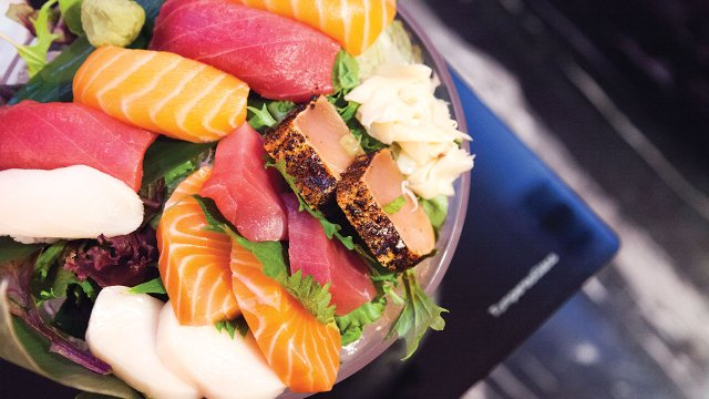Sushi at Encore Karaoke & Sushi Lounge