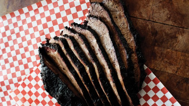 Brisket from Q fanatic