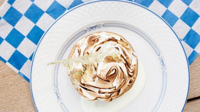 Lemon meringue pie at 4 Bells
