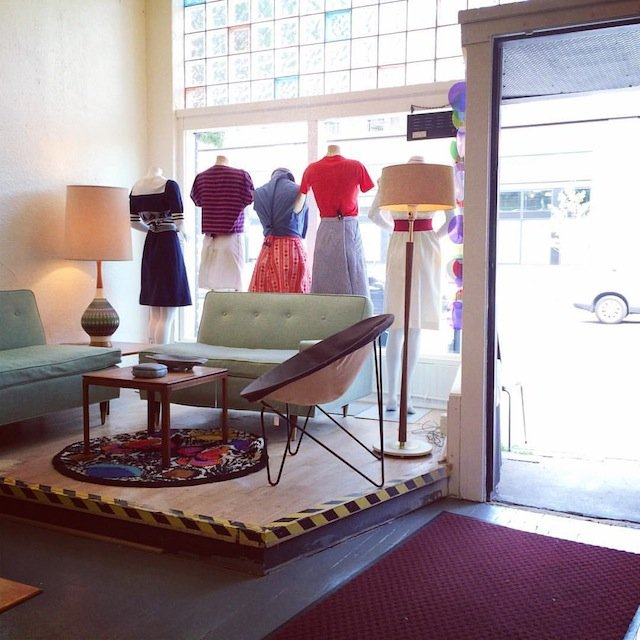 Up Six Vintage store at Selby and Snelling