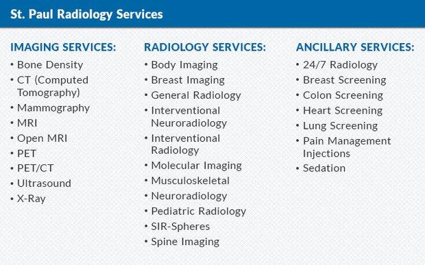 St Paul Radiology 2016 01
