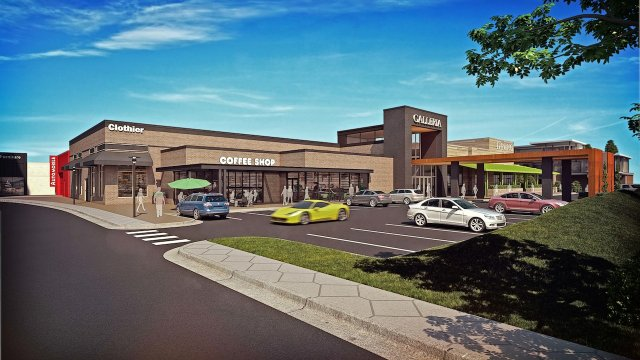 Galleria Expansion Rendering
