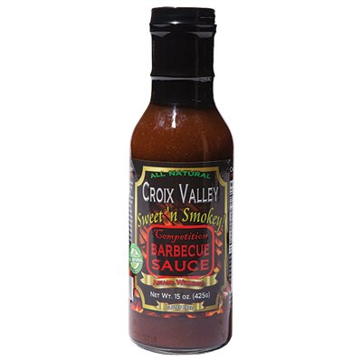 <strong>Croix Valley Special Reserve</strong> | <em>Sweet n Smokey</em> | Competition-level sauce with good smoke vibes.