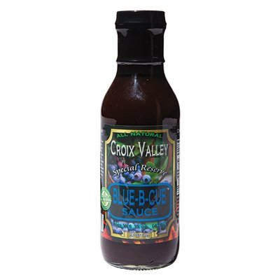 <strong>Croix Valley Special Reserve</strong> | <em>Blue-B-Cue Sauce</em> | Putting blueberries in your 'cue sauce is both Northern and good.