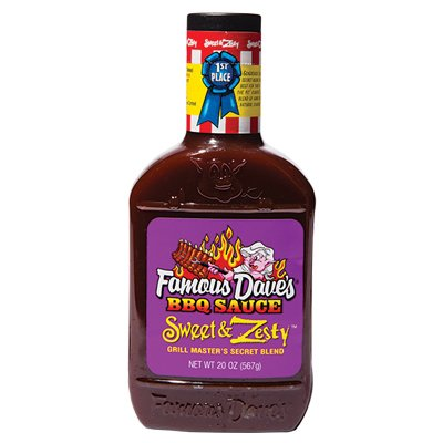 <strong>Famous Dave's</strong> | <em>Sweet & Zesty</em> | We love this amped-up version of the classic.