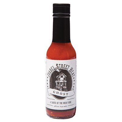 <strong>Isabel Street Heat</strong> | <em>Ghost</em> | Hot, but with richly fermented flavor.